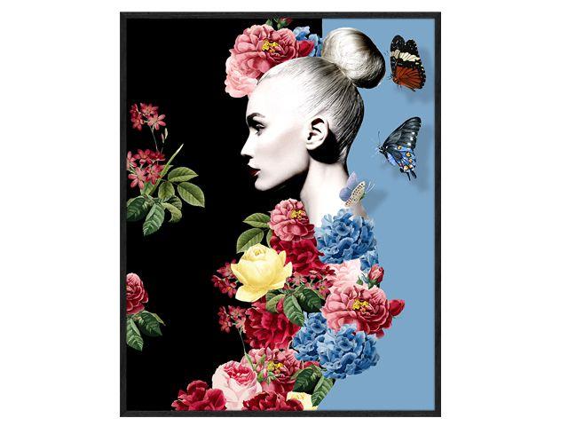Quadro Women and Flowers 77x97cm