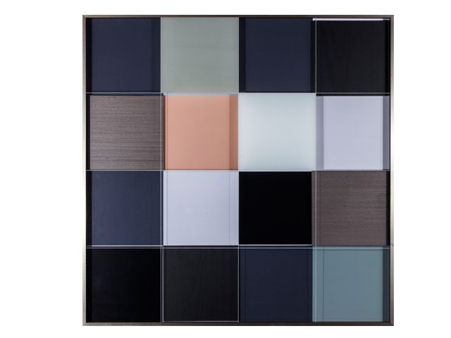 Quadro Wood Blocks  103x103cm