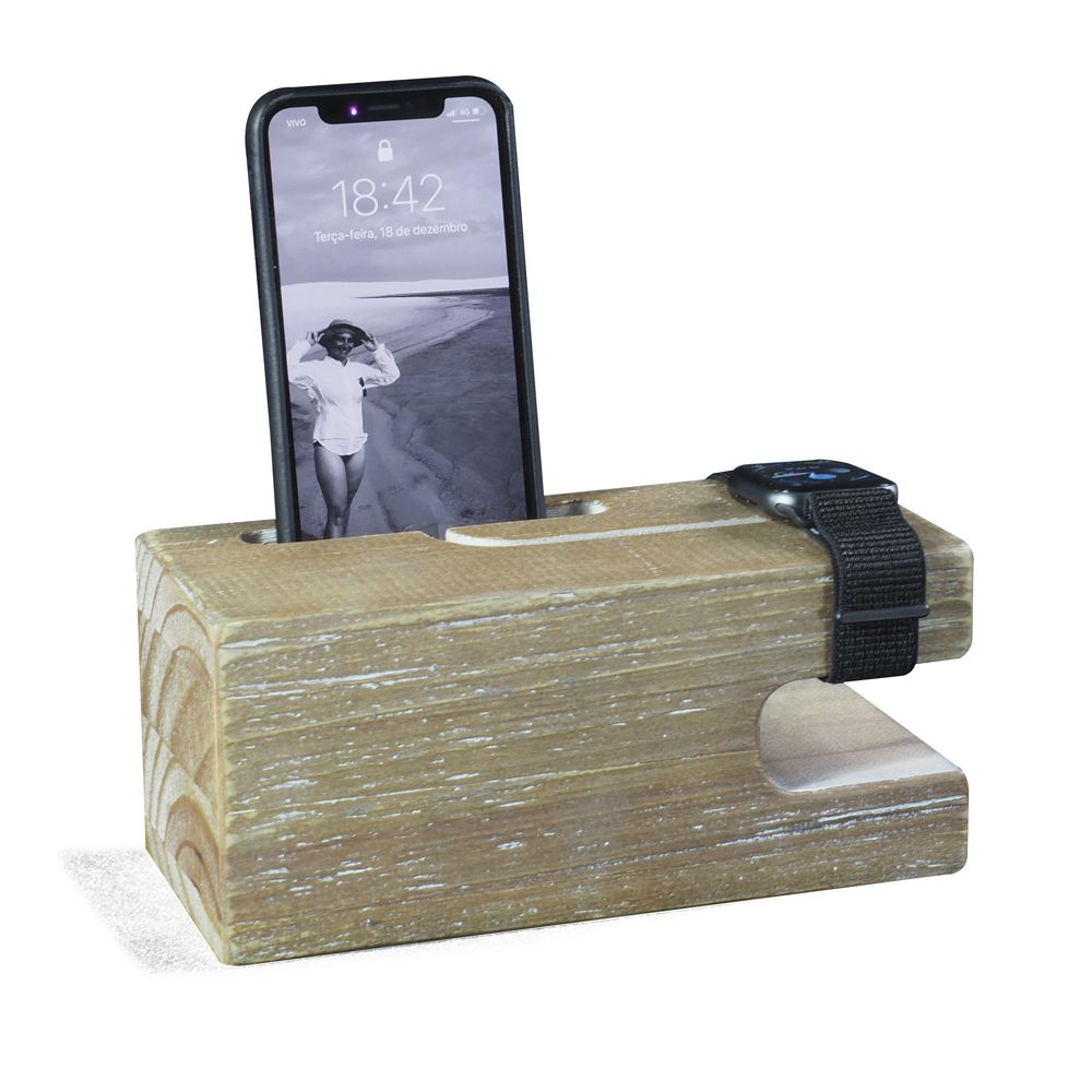 Suporte para iPhone e Apple Watch Industrial