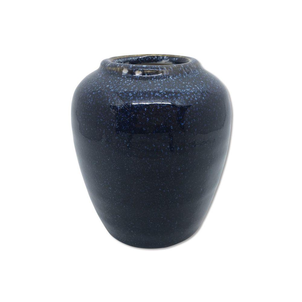 Vaso Alto Laila Azul Escuro 11cm