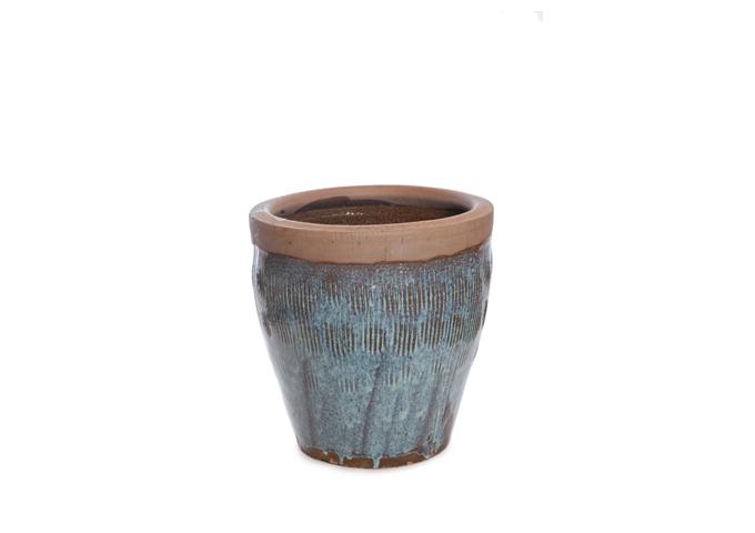 Vaso Cerâmica Redondo LOT-RTR64  D37 H39