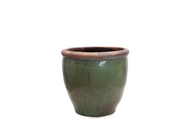 Vaso Cerâmica Redondo LOT-RTR5 D75 H66