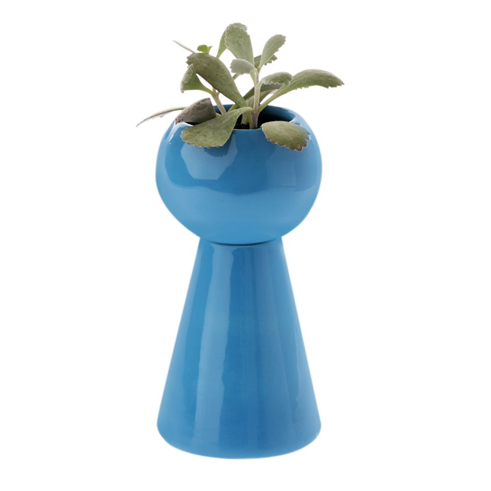 Vaso Mini Mii Azul Turquesa - 17cm