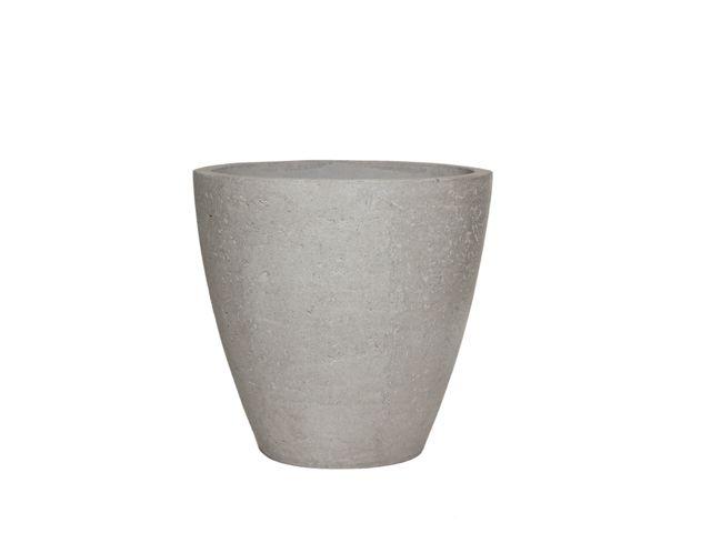 Vaso Vietnamita Oval em Cimento