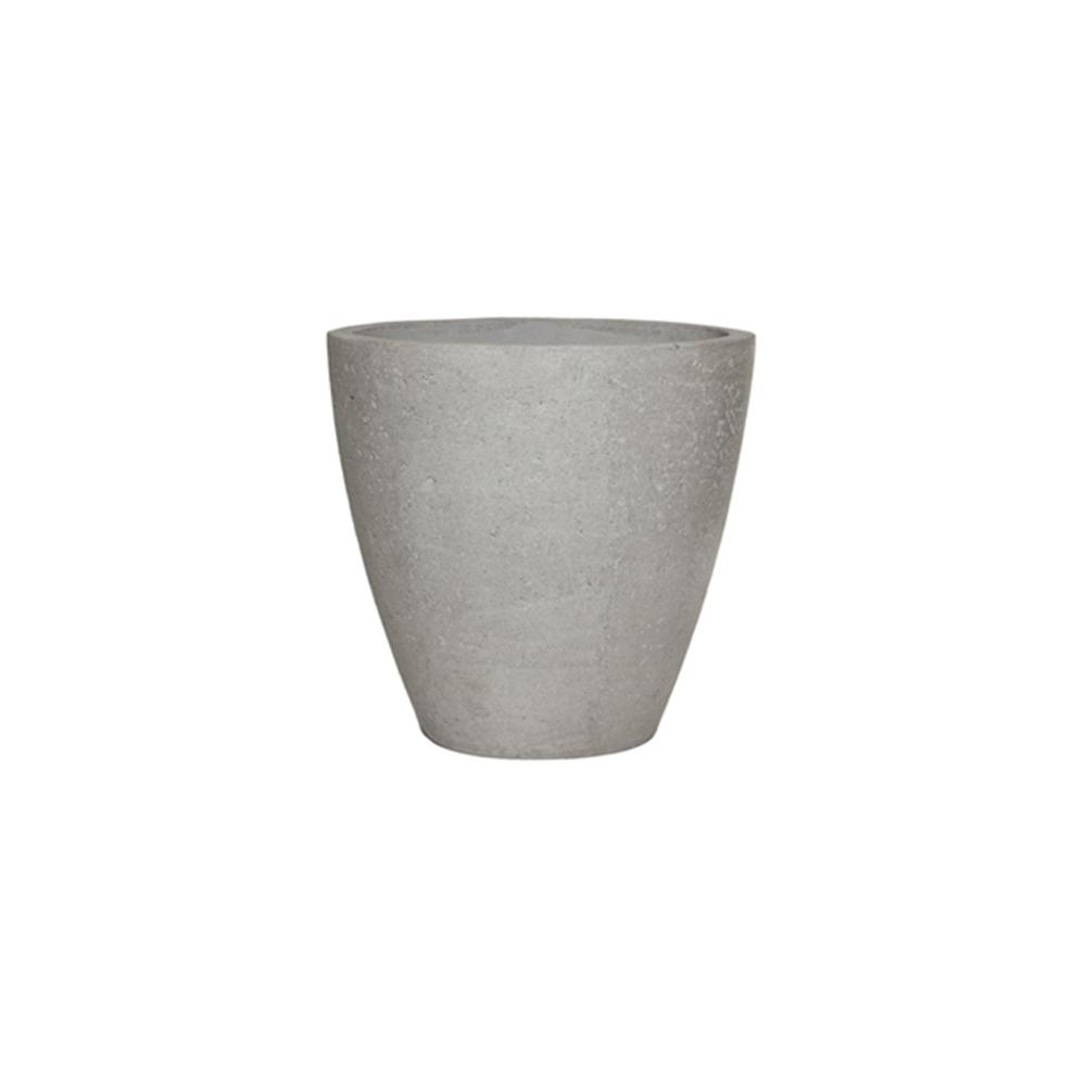 Vaso Vietnamita Oval em Cimento 60cm