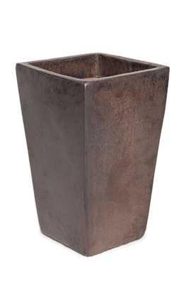Vaso Vietnamita Quadrado em Cerâmica 38x60cm