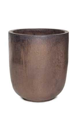 Vaso Vietnamita Redondo em Cerâmica 50x57cm