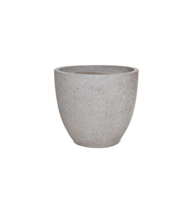 Vaso Vietnamita Redondo em Cimento 40cm