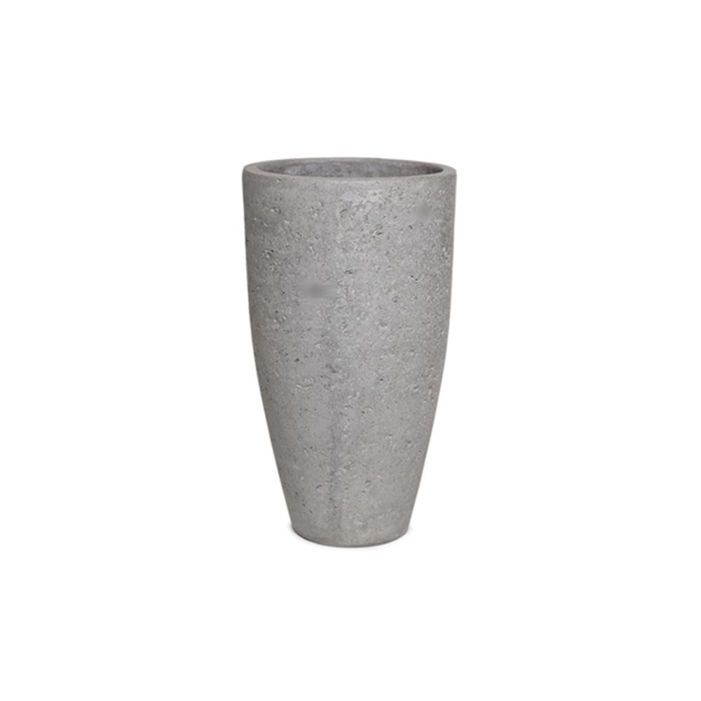 Vaso Vietnamita Redondo em Cimento 40x68cm
