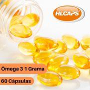 Omega 3 - 1 Grama [ EPA 200mg; DHA 100mg ] 60 caps