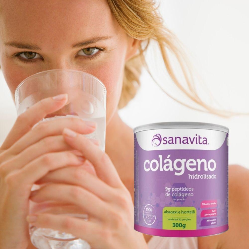 Colágeno Hidrolisado 300 g Lata - Sanavita
