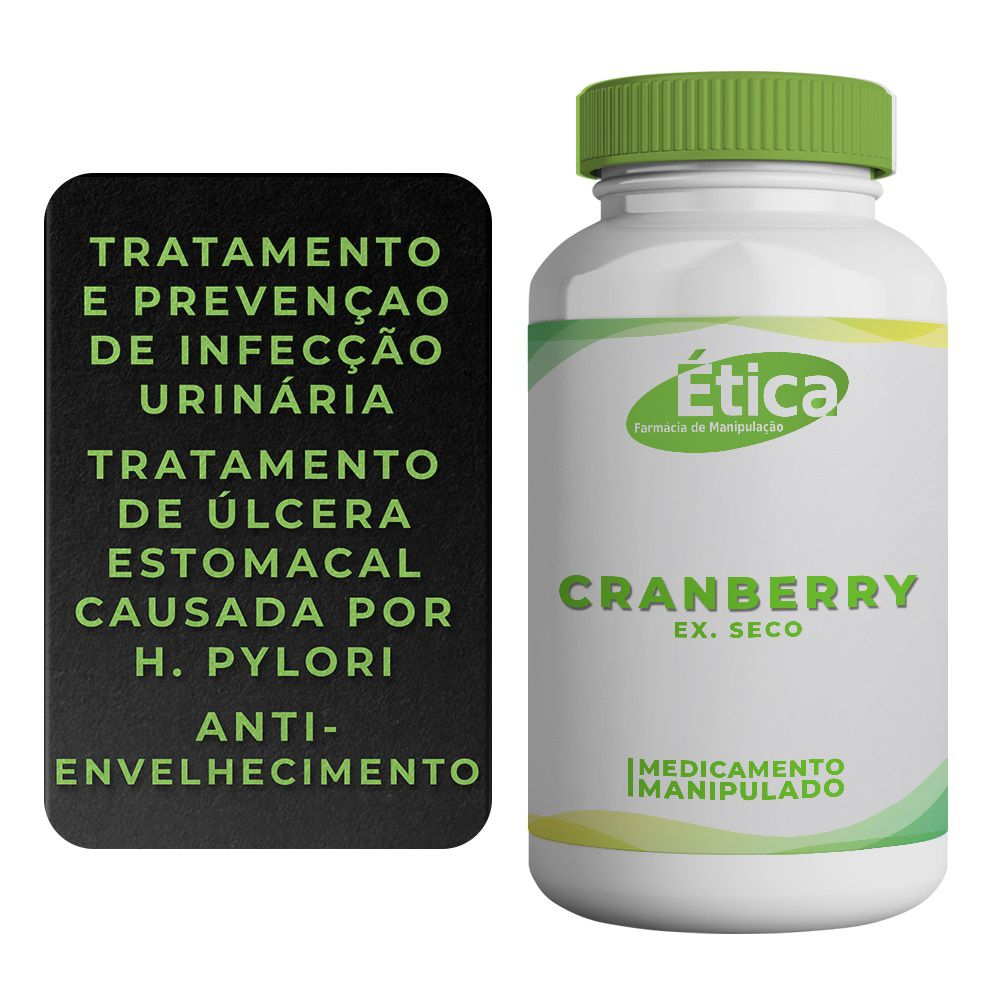 Cranberry ex. seco 500 mg 120 caps
