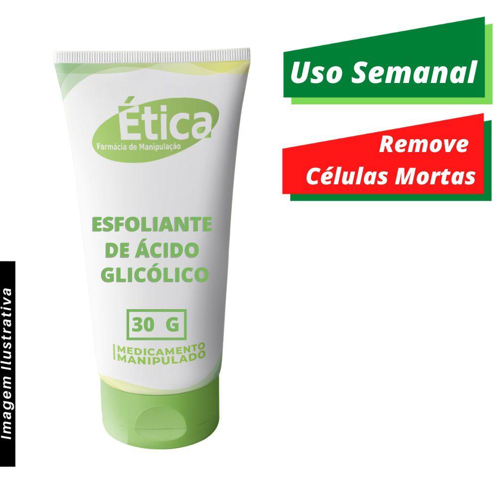 Creme Esfoliante de Ácido Glicólico 30 G