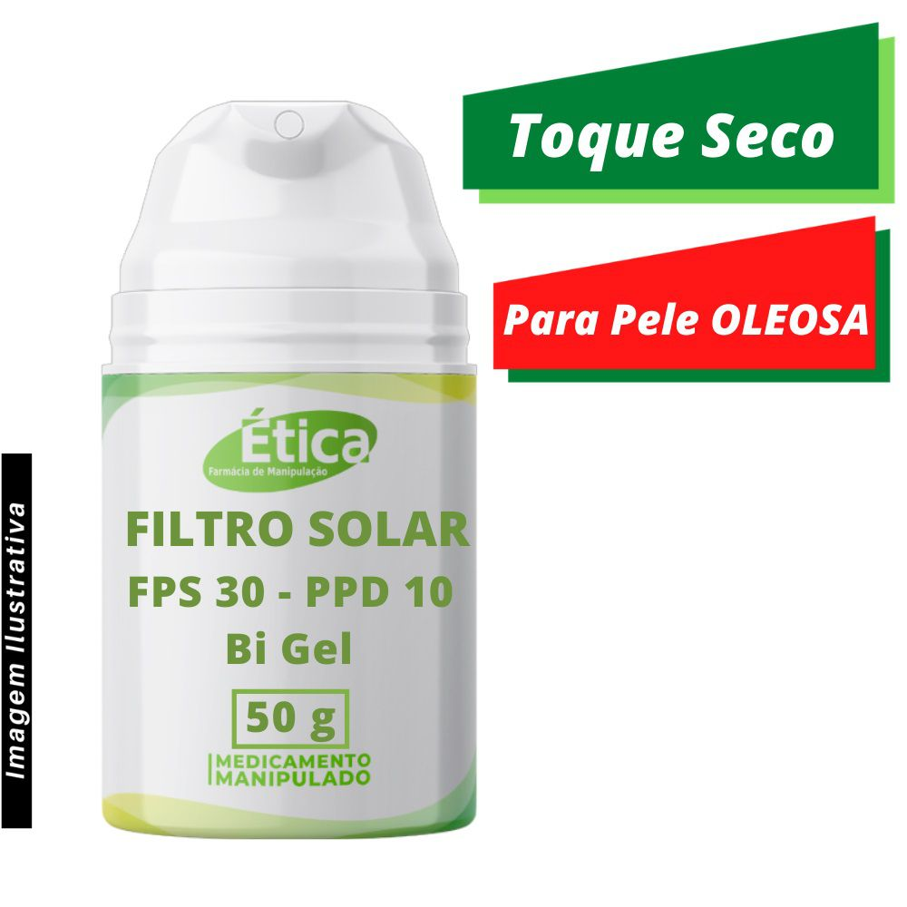 Filtro solar fPS 30 - PPD 10  BI-Gel 50 g