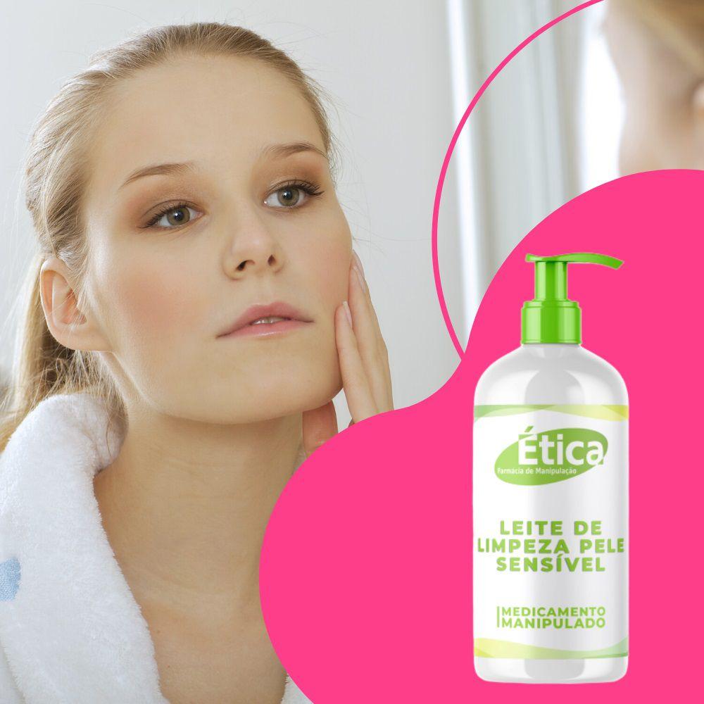 Leite de Limpeza para Pele Sensível  - 120 ml