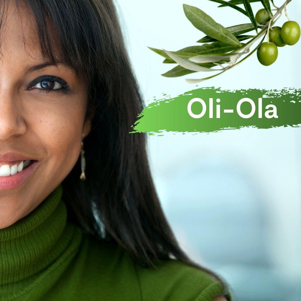 Oli Ola 300mg  + Vitamina C 100 mg - 30 caps  -  Bônus ( Fluído Clareador e Creme Hidratante)