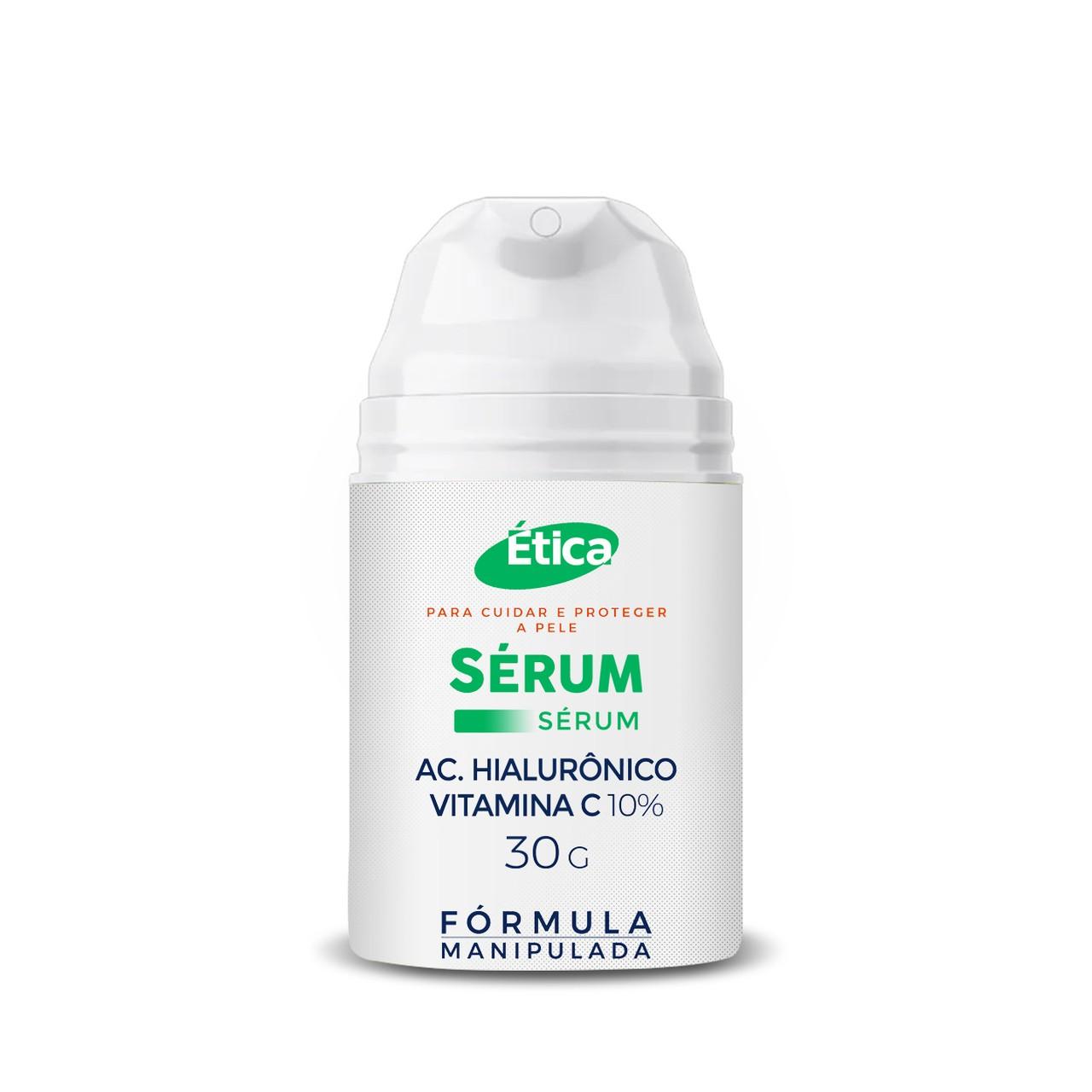 Sérum Vitamina C 10% com Ácido Hialurônico
