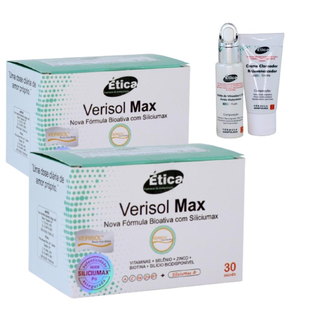 Verisolmax 60 Doses, Colágeno Para Pele