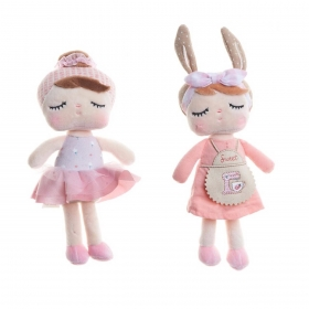 KIT MINI ANGELA 21CM LAI BALLET ROSA + CHEF - METOO