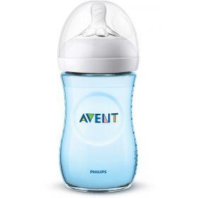 MAMADEIRA PÉTALA 260ML (1M+) BPA FREE - AZUL - PHILIPS AVENT