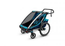 MULTIFUNCIONAL BIKE TRAILER CHARIOT CROSS 2  BLUE POS -THULE