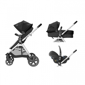 TRAVEL SYSTEM ANNA² TRIO - ESSENTIAL BLACK - MAXI-COSI