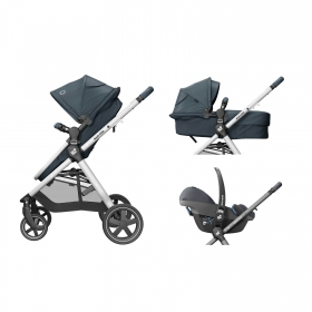 TRAVEL SYSTEM ANNA² TRIO - ESSENTIAL GRAPHITE - MAXI-COSI