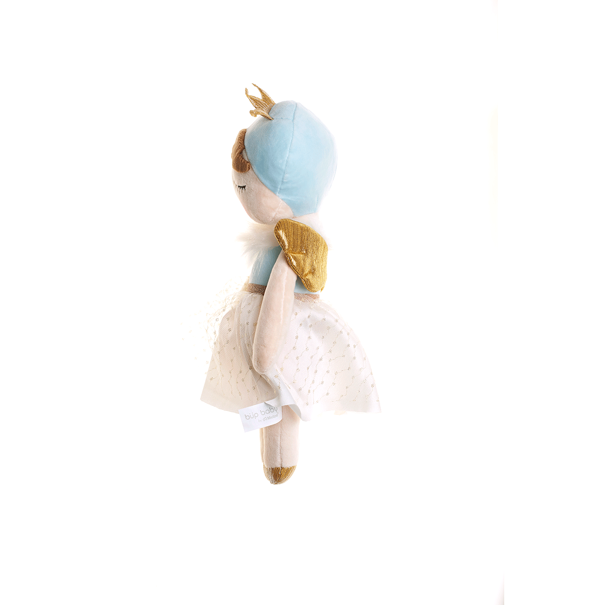 BONECA ANGELA ANGEL AZUL 33CM - METOO