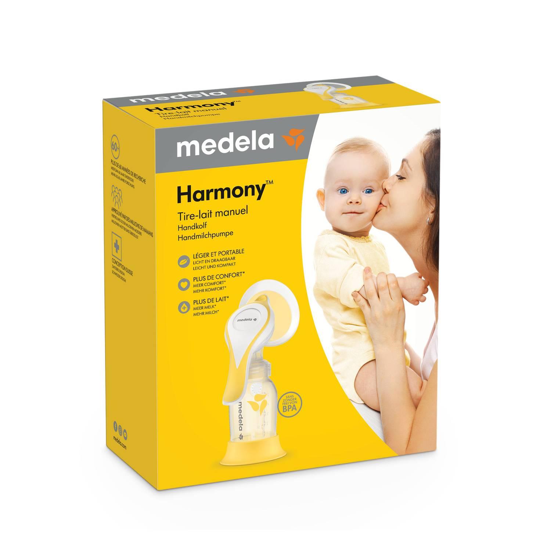 EXTRATOR  MANUAL DE LEITE MATERNO HARMONY FLEX - MEDELA