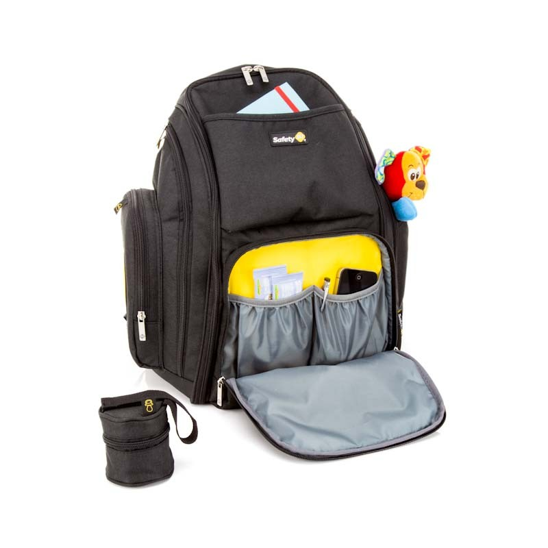 KIT CARRINHO POCKET MICRO+ MOCHILA BACKPACK-BLACK-SAFETY 1ST