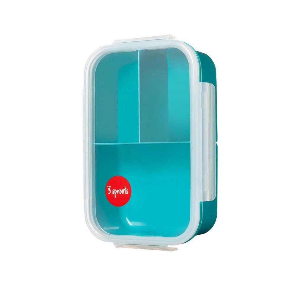 KIT LANCHEIRA + BENTO BOX + GARRAFA - URSO - 3 SPROUTS