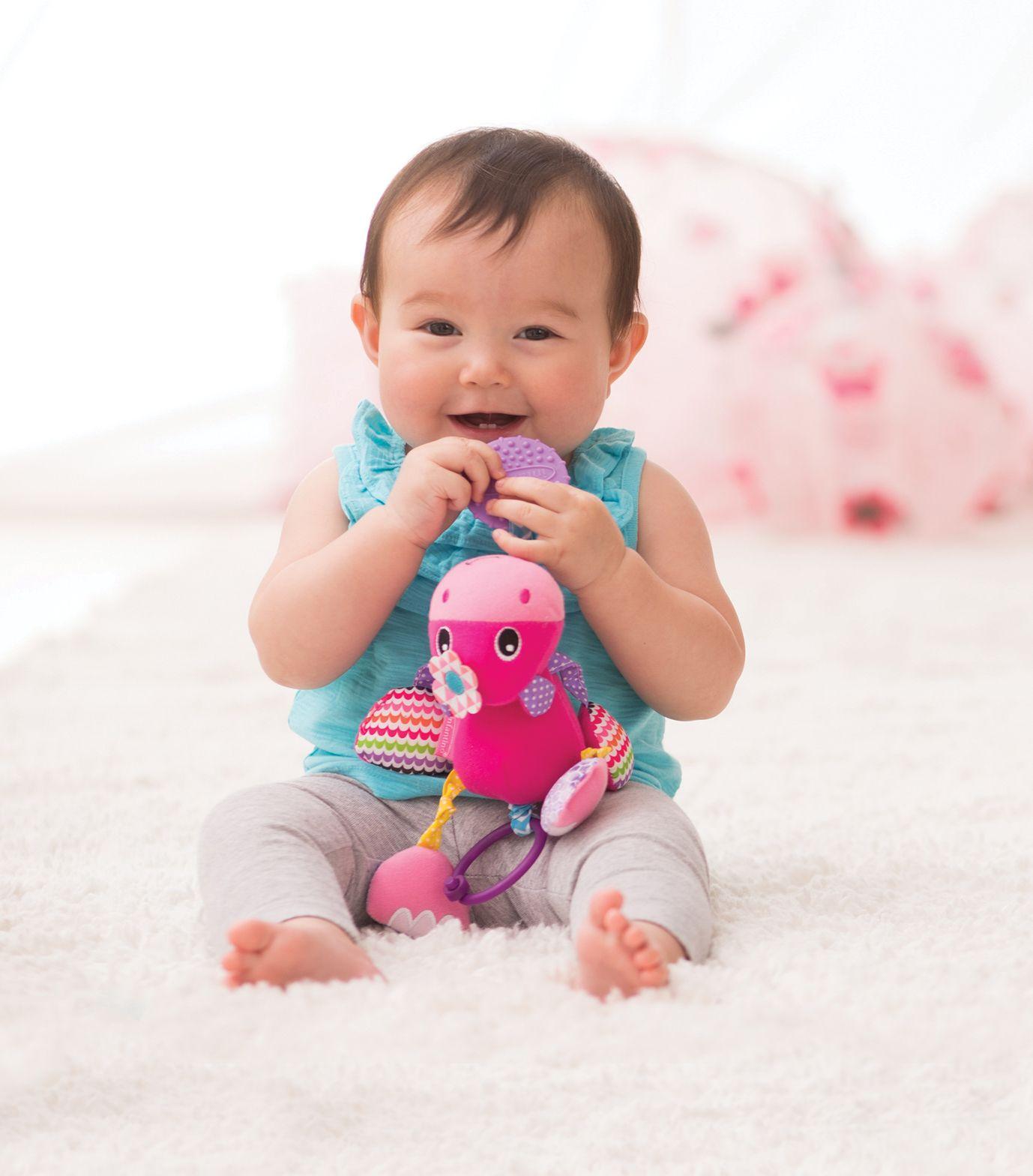 KIT MÓBILE BORBOLETA+MÓBILE C/ MORDEDOR HIPOPOTAMO-INFANTINO