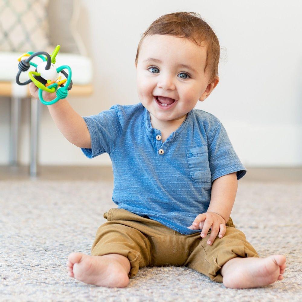 KIT MORDEDOR ORBITA + MÓBILE TARTARUGA ESPELHO - INFANTINO