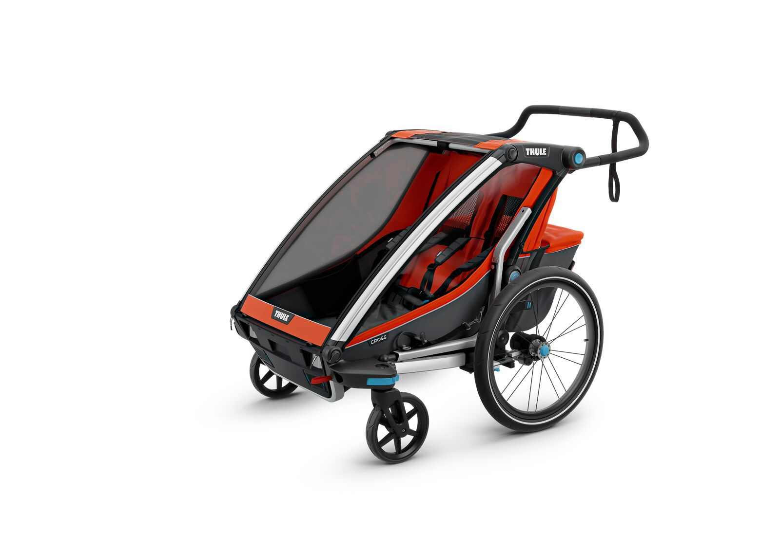MULTIFUNCIONAL BIKE TRAILER CHARIOT CROSS 2 ROARANGE- THULE