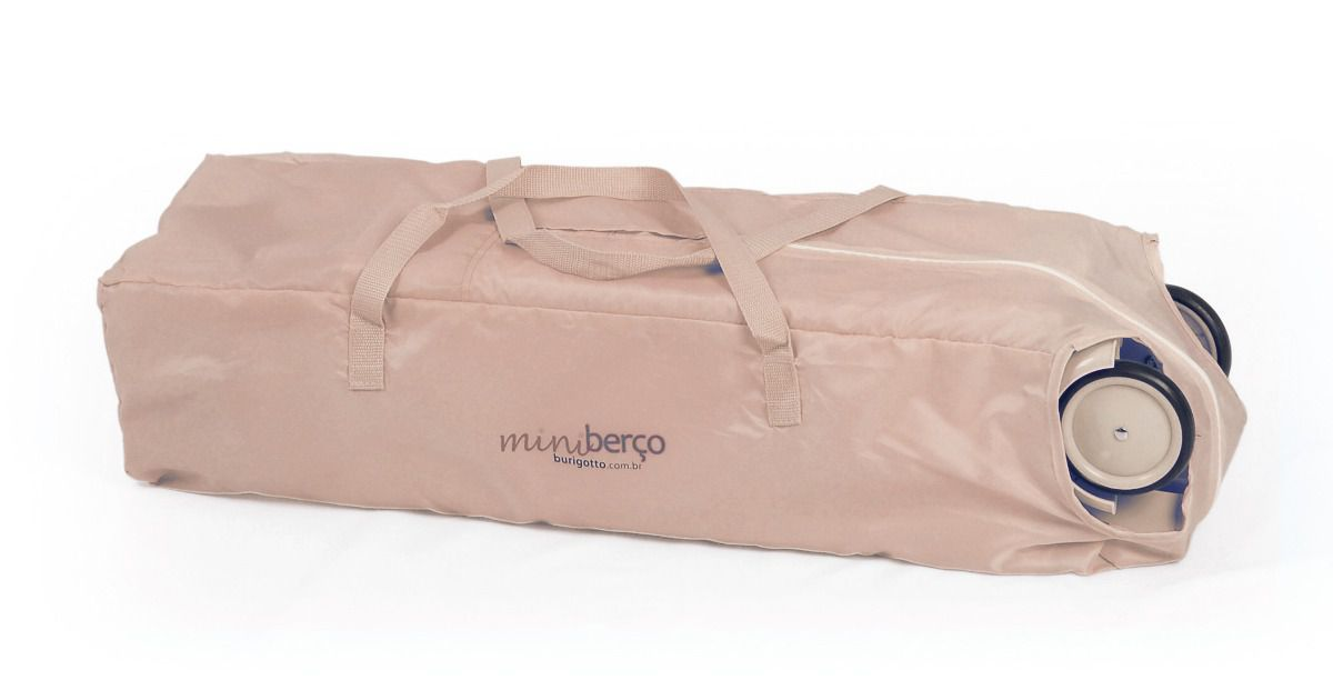 NEW MINI BERÇO BEIGE - BURIGOTTO