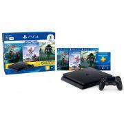 Console Playstation 4 Slim 1TB Hits Bundle 4ª Geração + 3 jogos - Sony