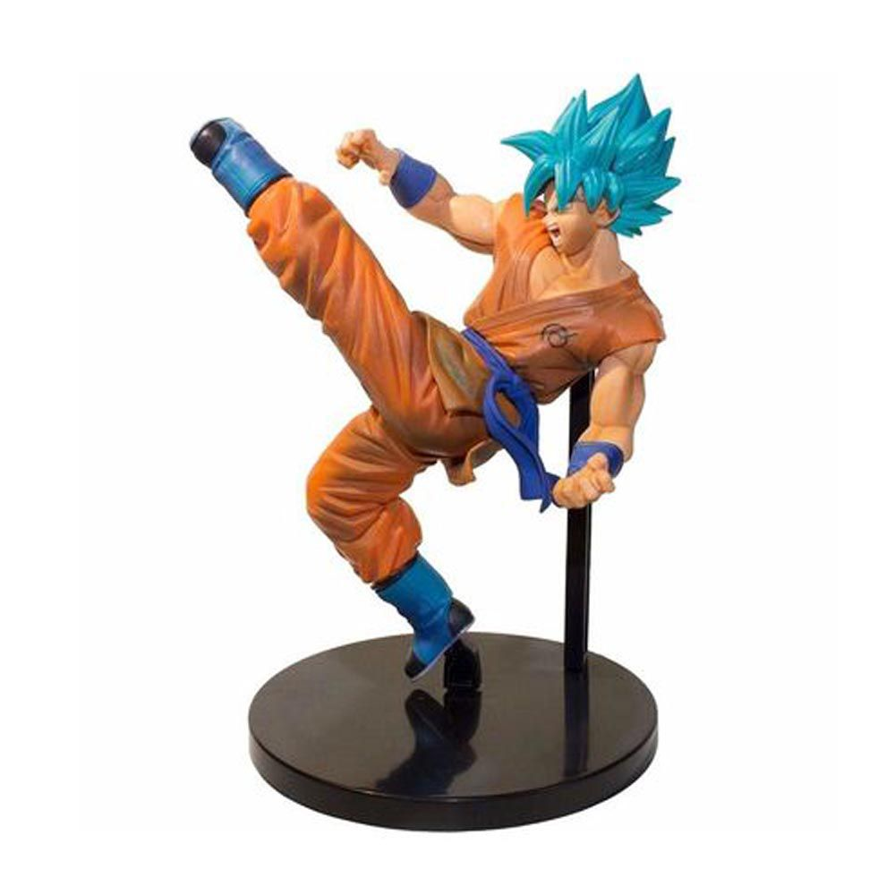 Action Figure Goku SSJ God Banpresto