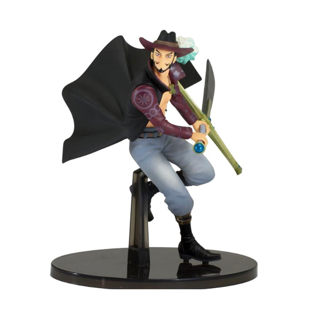 Action Figure Onepiece Dracule Mihawk - Banpresto
