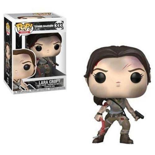 Boneco Funko Pop Tomb Raider Lara Croft