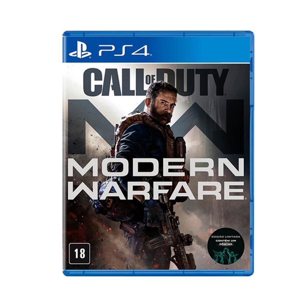 Call of Duty: Modern Warfare PS4 - Mídia Física