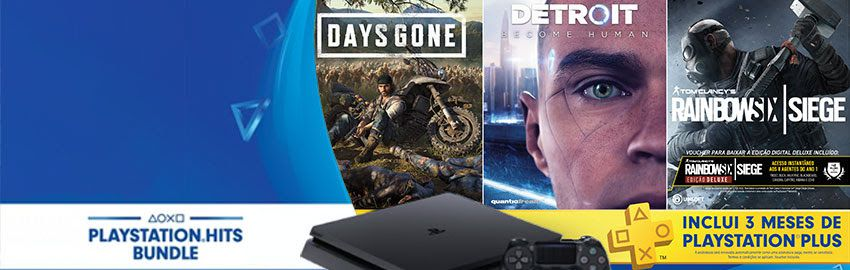 CONSOLE PS4 HIT 5º EDICAO