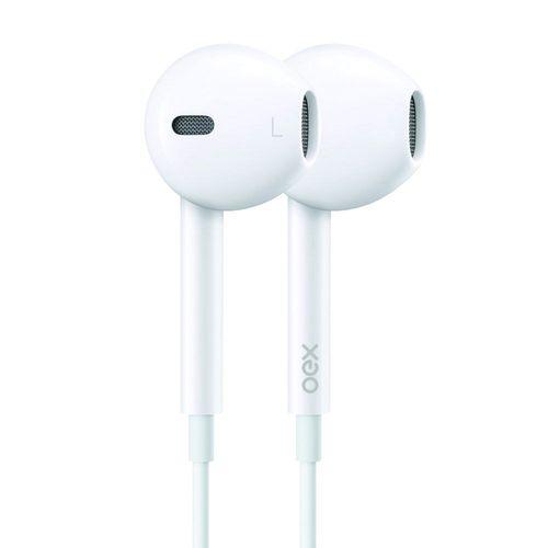 Fone de Ouvido para Celular/PC In Ear OEX