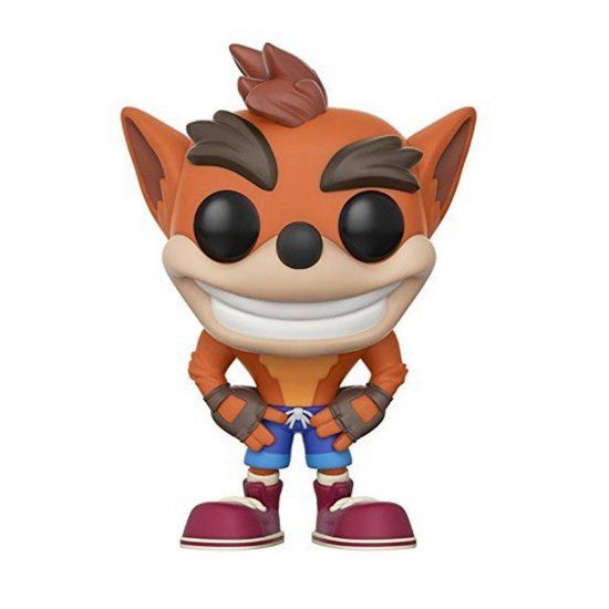 Funko Pop do Crash Bandicoot Playstation