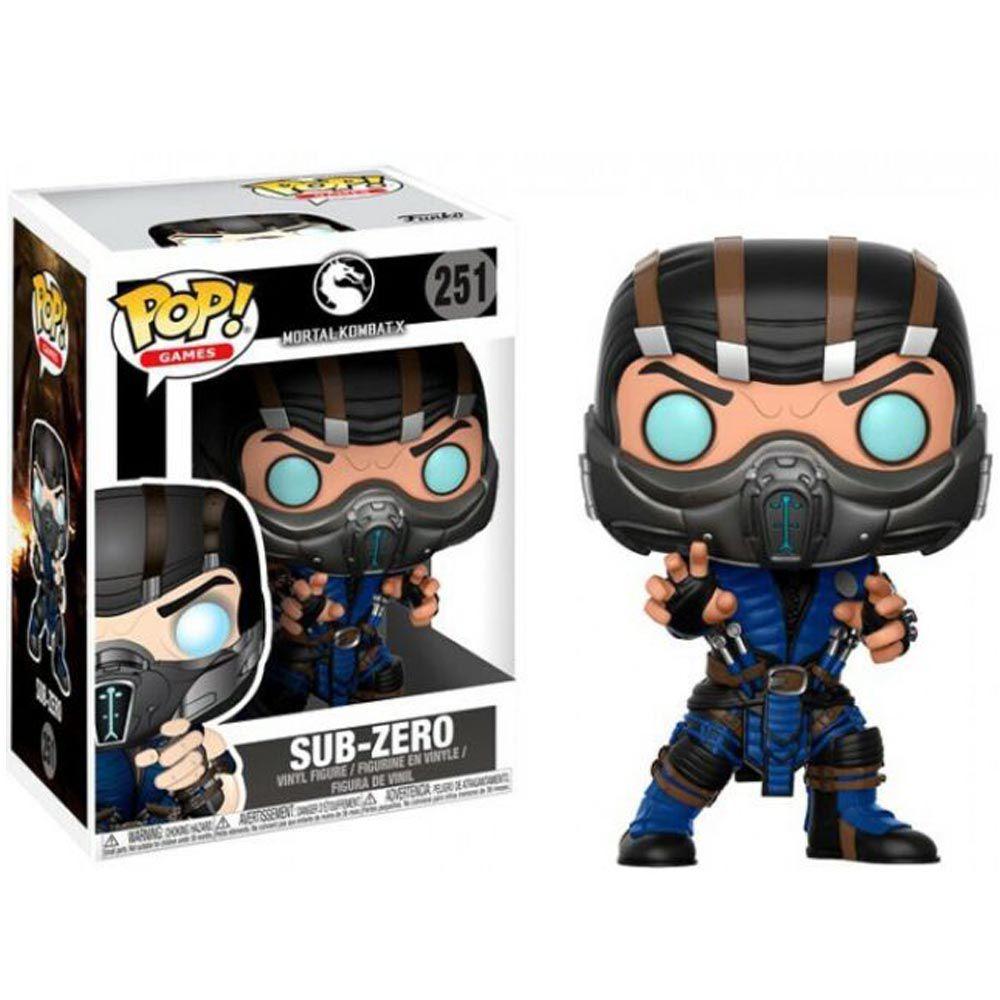 Funko Pop Vinil Mortal Kombat Sub Zero