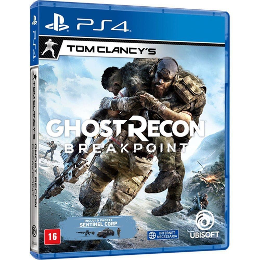 Game Tom Clancy's Ghost Recon Breakpoint - PS4