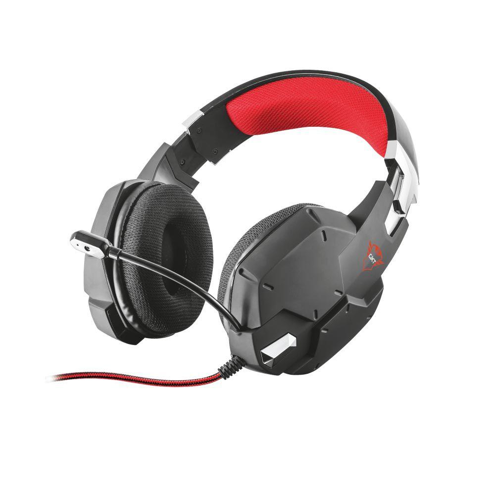 Headset Gamer Preto Trust Gxt 322