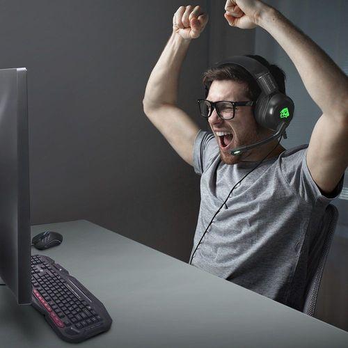 Headset Gamer Profissional Genesis ELG Verde