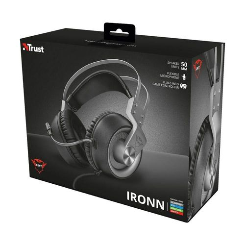 Headset Gamer Trust Gxt Iron Multiplataforma