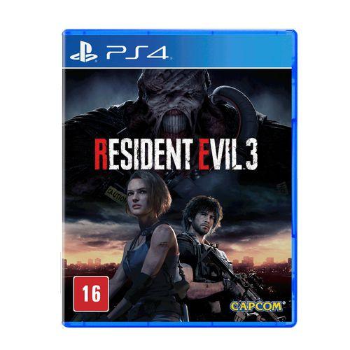 Jogo Resident Evil 3 PS4 - Remake 2020