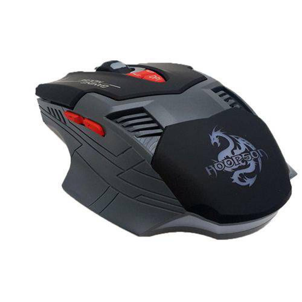 Mouse Gamer Profissional USB Hoopson GX 800